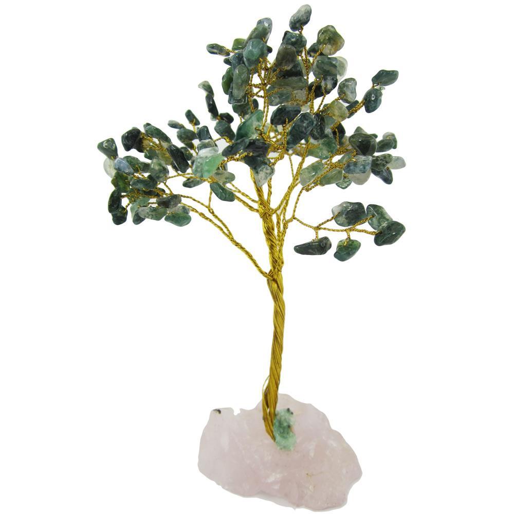arbre du bonheur ou arbre de vie agate mousse. Black Bedroom Furniture Sets. Home Design Ideas
