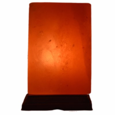 Lampe en véritable sel de l'Himalaya - Forme Rectangle - 2-3 kg