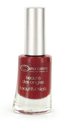 Couleur Caramel - Vernis à ongles n°42- Rouge Poinsettia