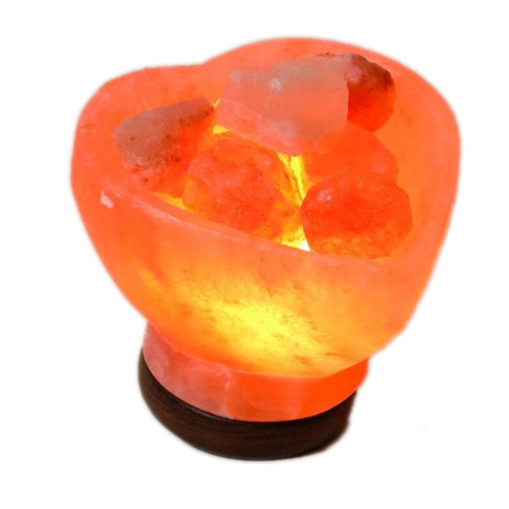 lampe sel de l 39 himalaya coeur en v ritable sel de l 39 himalaya. Black Bedroom Furniture Sets. Home Design Ideas