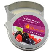 Bougie de Massage - Fruits Rouges