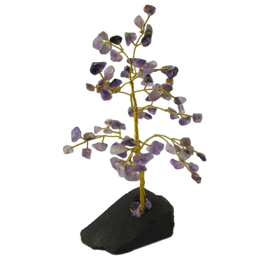 arbre de vie 80 pierres gemme am thyste. Black Bedroom Furniture Sets. Home Design Ideas