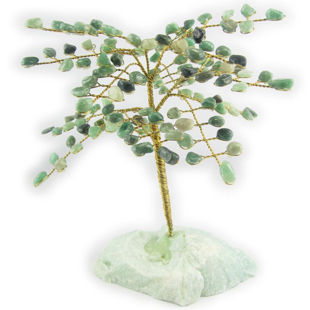 arbre du bonheur ou arbre de vie gemme aventurine taille 3. Black Bedroom Furniture Sets. Home Design Ideas