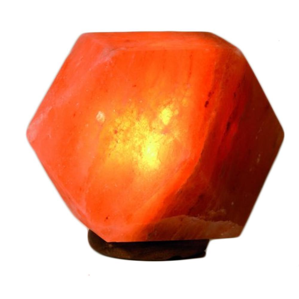 lampe sel de l 39 himalaya forme taill e diamant 3 4 kg. Black Bedroom Furniture Sets. Home Design Ideas