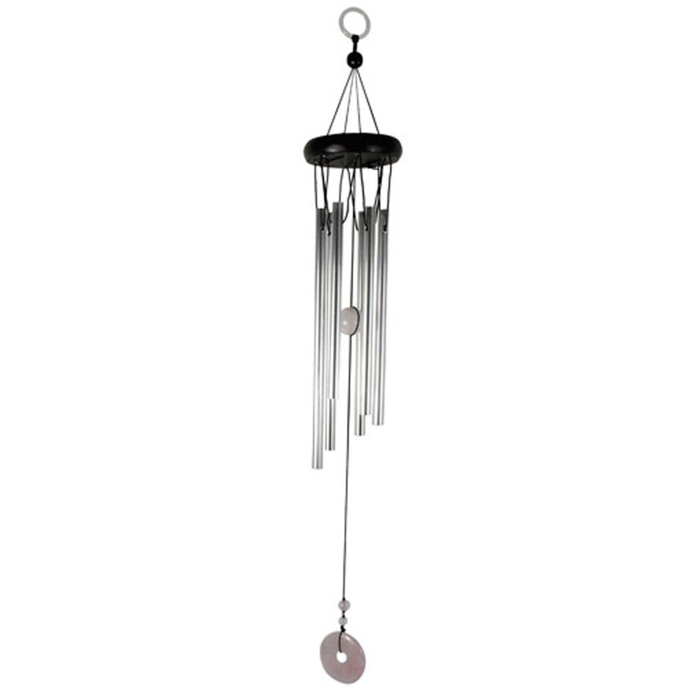 carillon quartz rose 6 tubes carillon pierre naturelle. Black Bedroom Furniture Sets. Home Design Ideas