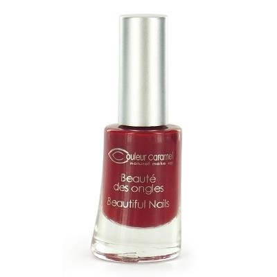 Couleur Caramel - Vernis à ongles n°08- Rouge mat 8ml