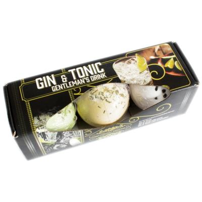 Bombes de Bain Cocktail - Gin Tonic - Coffret de 3