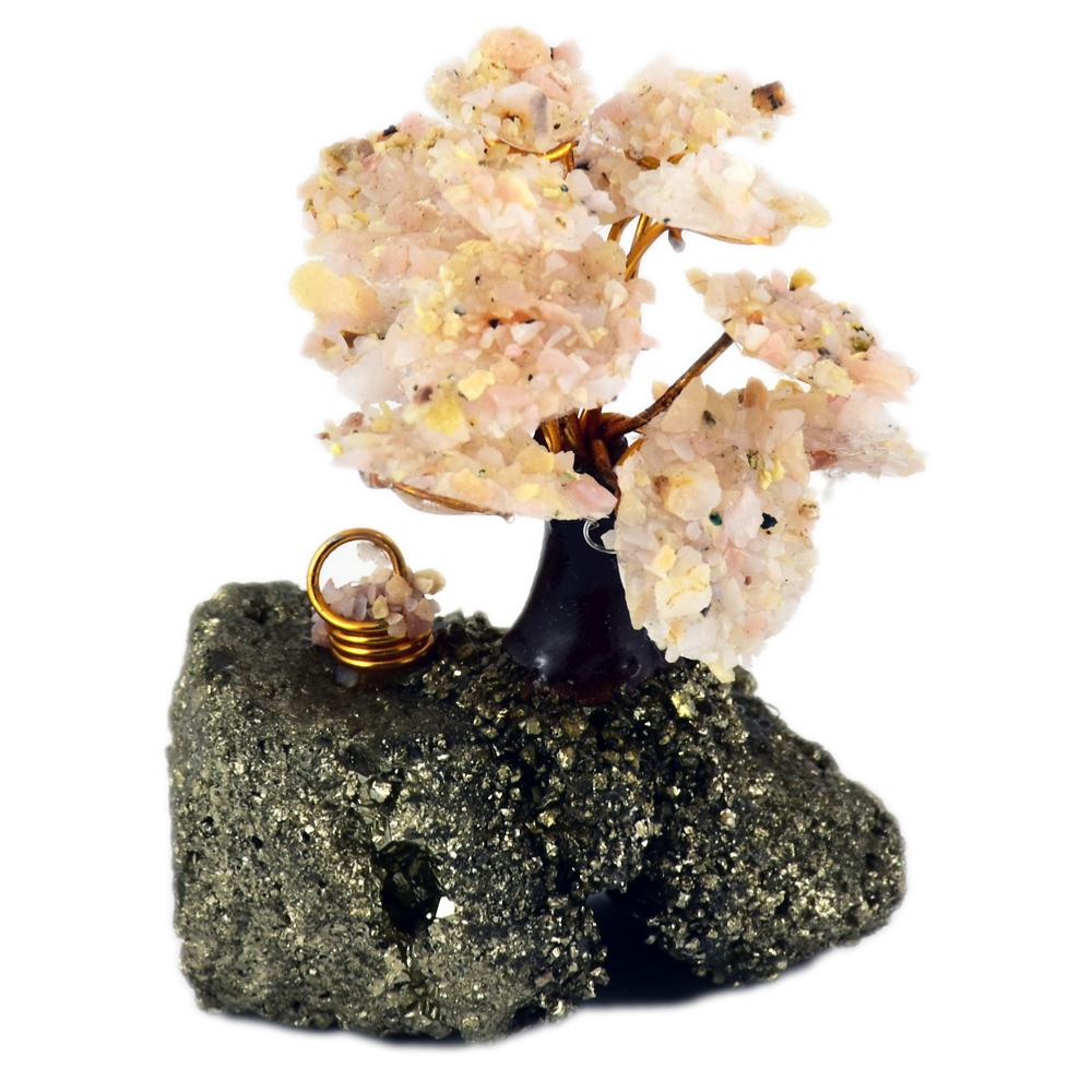 arbre du bonheur opale rose. Black Bedroom Furniture Sets. Home Design Ideas