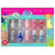 Suncoatgirl Kit Manucure Naturel 10 Vernis Flare & Fancy