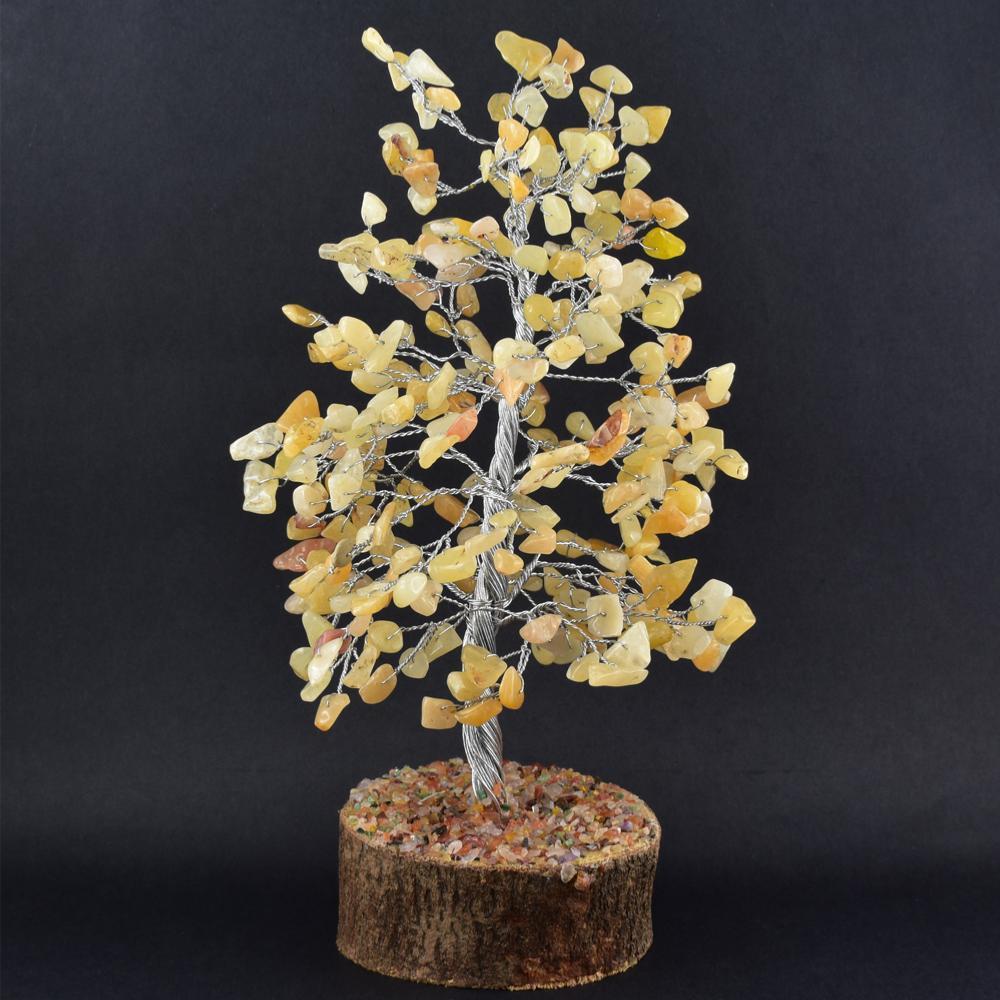 arbre du bonheur 300 pierres gemme quartz rutile tronc argent. Black Bedroom Furniture Sets. Home Design Ideas