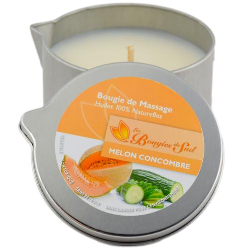 Bougie de Massage - Melon Concombre